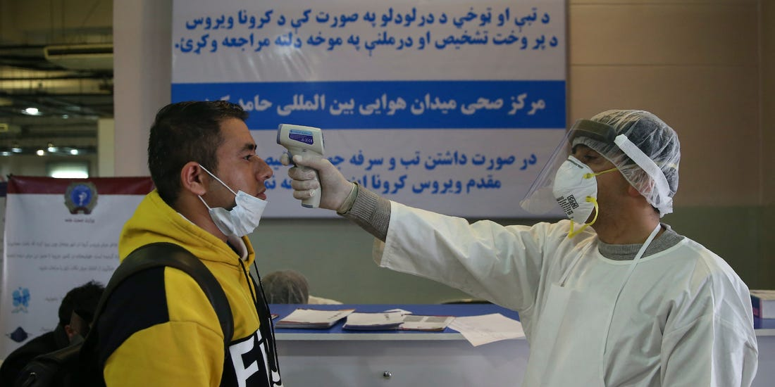 COVID-19 cases in Afghanistan rise to 14,525