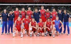 تیم والیبال روسیه در برابر ایران پیروز شد
