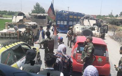 هفت نیروی امنیتی در درگیری باطالبان در بغلان جان باخت