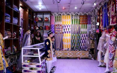 گشایش بازار دایمی تولیدات و صنایع دستی اوزبیکستان در بلخ