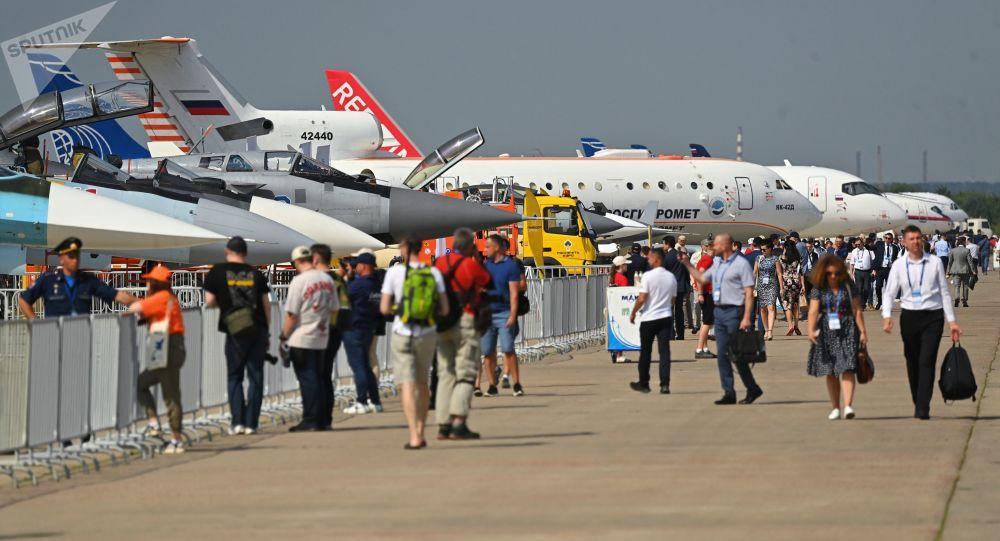 نمایشگاه هواپیمایی روسیه