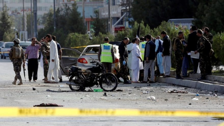 Afghan-security-forces-inspect-the-site-of-a-suicide-attack-in-Kabul-Afghanistan-September-9-2018-880x496